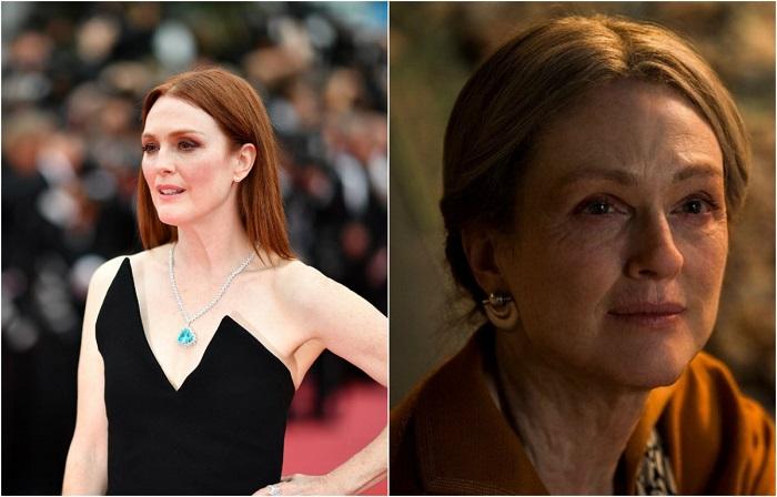 В драматическом фильме «Мир, полный чудес» актриса исполнила роль звёзды немого кино.