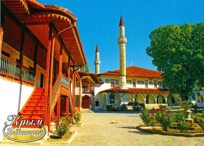 Дворец был построен как родовая резиденция династии Гераев - правителей Крымского ханства.