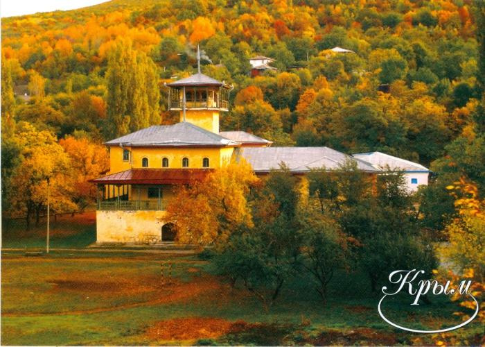 Дворец князя Феликса Юсупова в селе Соколиное Бахчисарайского района Крыма.