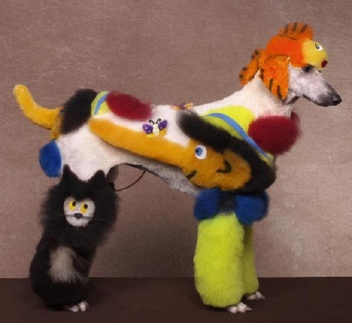 Собака с Пиноккио, Херши, штат Пенсильвания.