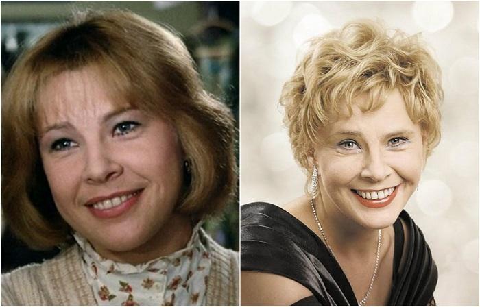 Экранные персонажи актрисы всегда получаются задорные, позитивные, легкие, не исключение и роль Лиды в советском фильме.