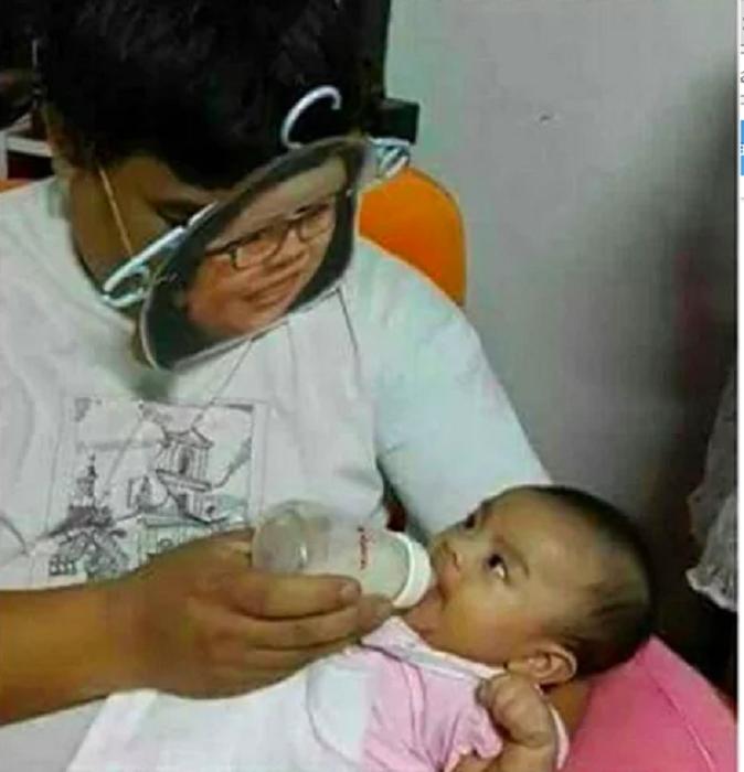 У мамы на руках аппетит лучше.