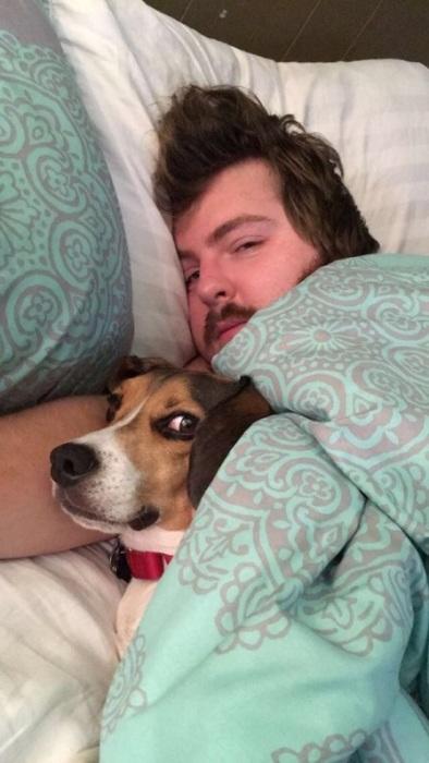 «Моя собака взглядом намекает, что я в этой кровати лишняя…»
