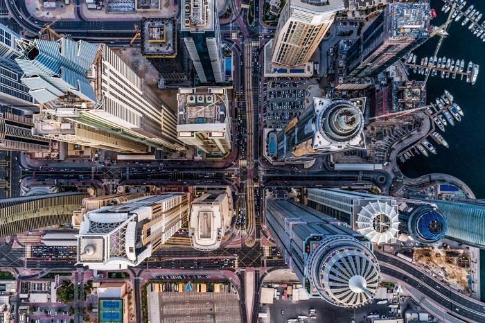 Один из самых красивых городов Объединенных Арабских Эмиратах. Автор фотографии: bachirm.