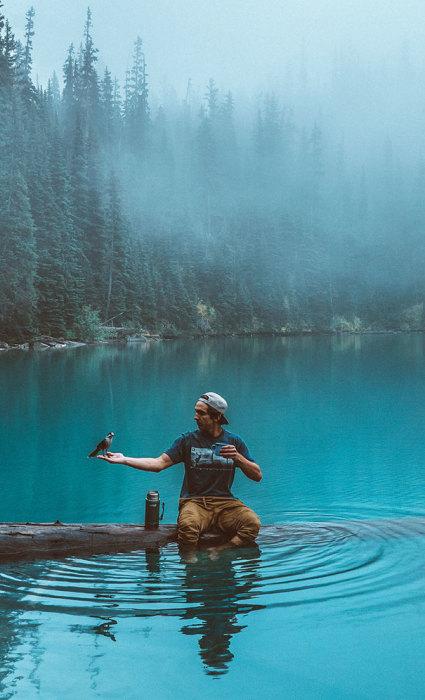 Яркий снимок, который показывает, какой прекрасной является наша жизнь и за какие моменты ее стоит ценить.
