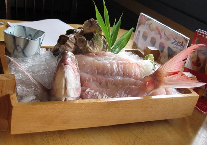 Блюдо японской кухни.