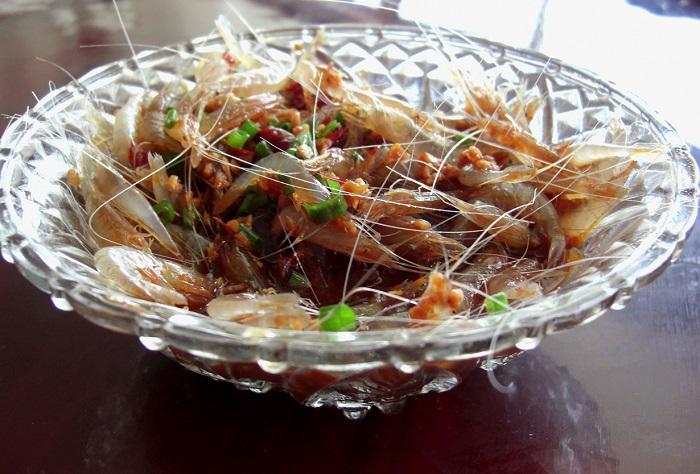 Блюдо китайской кухни.