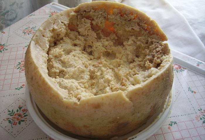 Блюдо итальянской кухни.