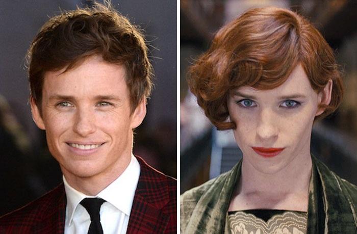 Британскому актеру театра и кино тоже пришлось примерить женскую роль Лили в фильме «Девушка из Дании», основанном на реальных событиях.