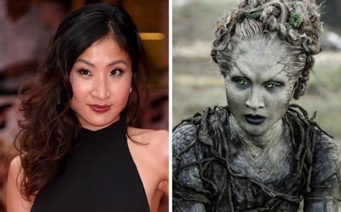 Актриса японского происхождения сыграла роль Листочка – лидера детей леса в сериале «Игра перстолов».