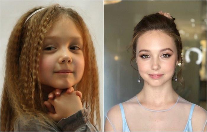 Российская актриса стала популярна после после того, как исполнила роль всеми любимой Пуговки - Полины Васнецовой из ситкома «Папины дочки».