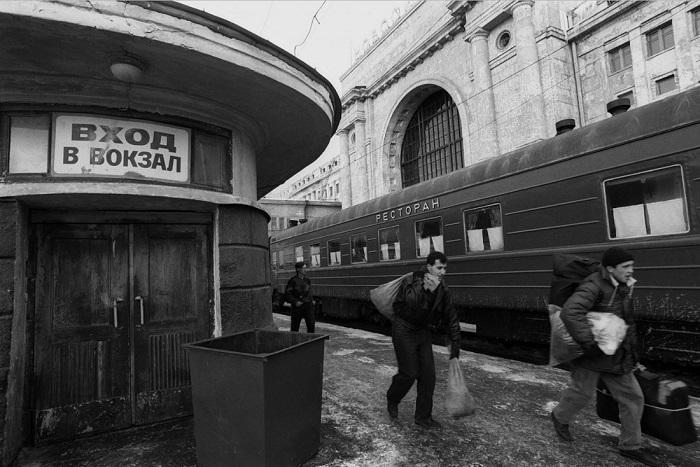 «Вход в вокзал».