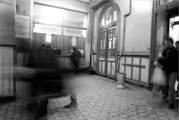 Пассажирский терминал станции Санкт-Петербург-Витебский.
