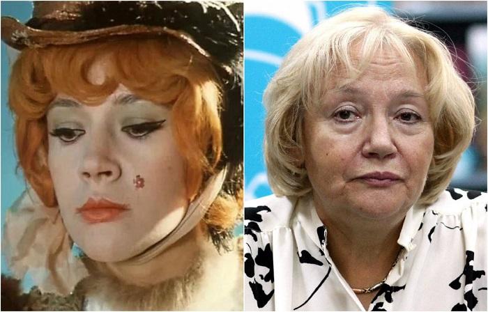 Знаменитая советская и российская актриса, много и успешно играющая на театральной сцене, а также снявшаяся в более 60 кинофильмах.