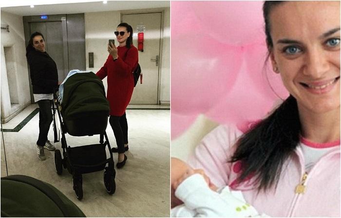 Олимпийская чемпионка 14 февраля стала мамой во второй раз, родив мальчика и назвав его исконно русским именем Добрыня. /Фото: 24smi.org