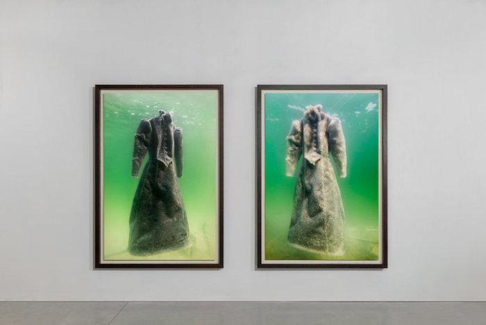 Художник оставил платье в Мёртвом море на 2 года, и оно превратилось в шедевр из морской соли.