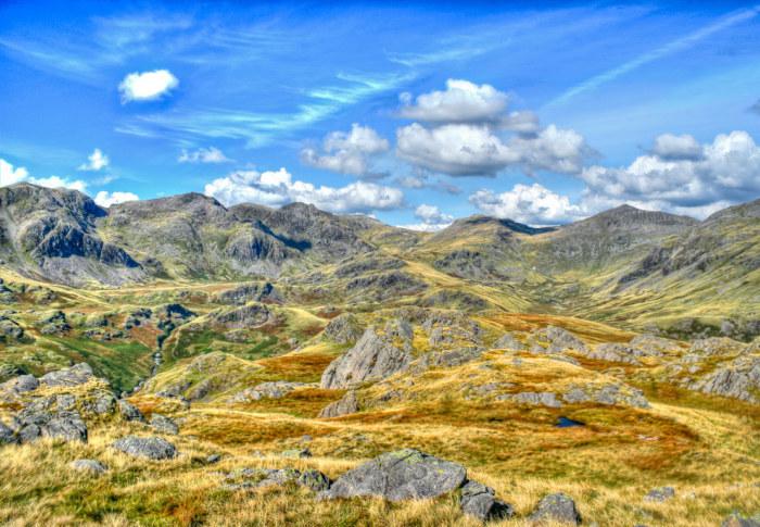 Скафелл пайк — это самая высокая точка Англии.