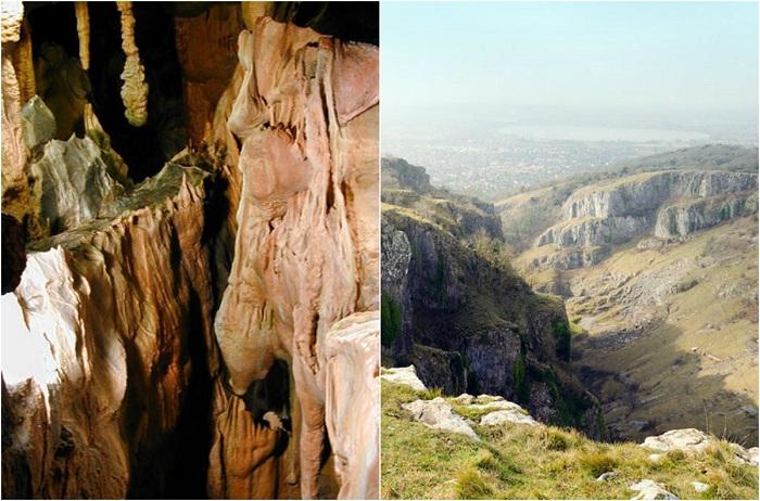 Самый большой каньон в Королевстве Великобритании и Северной Ирландии.