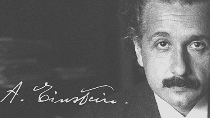 Физик-теоретик был звездой своего времени и собственные автографы оценивал в сумму от 1 до 5 долларов.