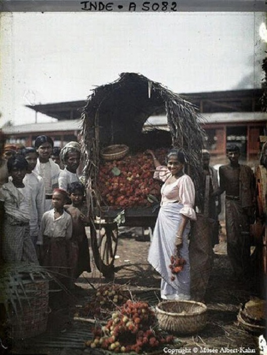 Городской рынок, фотография 1910 год.