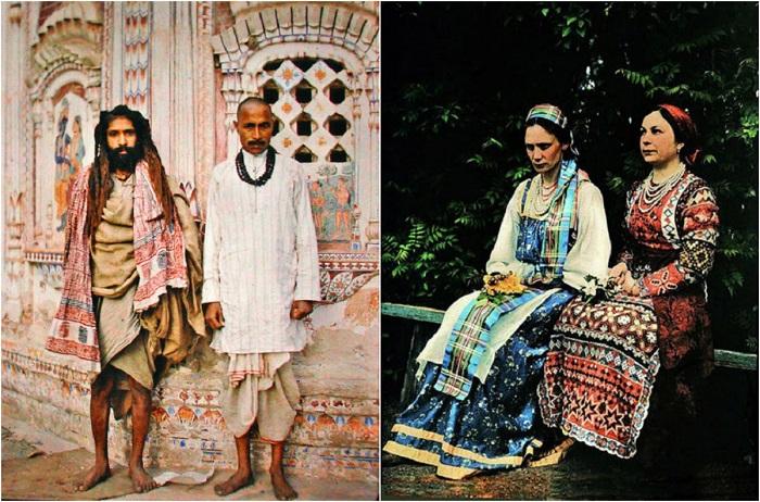 Интересные этнографические фотографии, про жизнь в начале века.