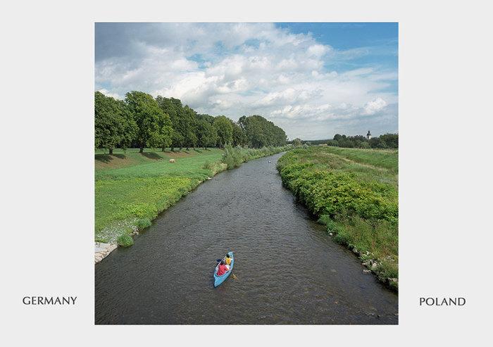 Германия с Польшей разделены лишь небольшим водным каналом.