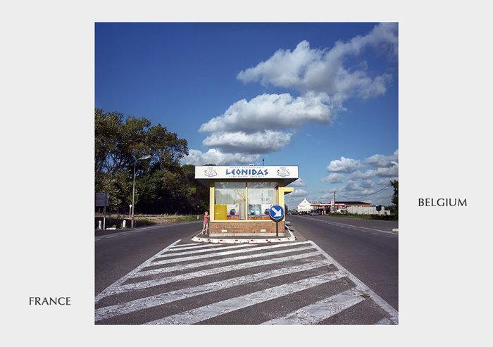 Пограничный пост стал дорожным магазином.
