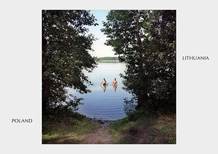 Польско - литовское озеро.