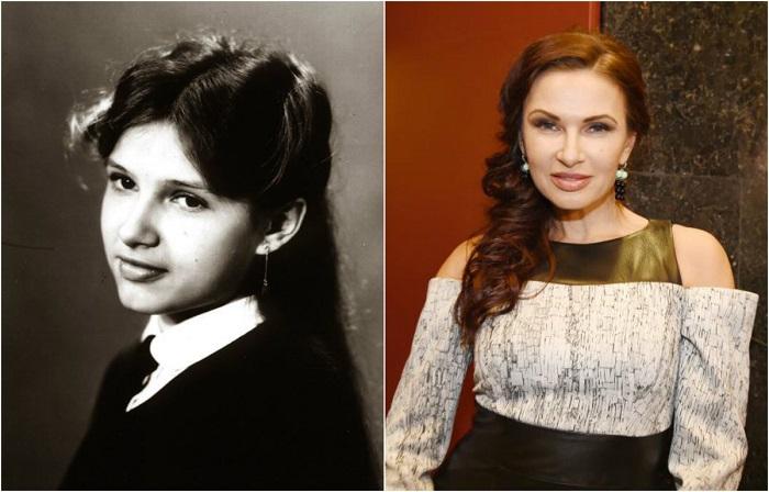 Успешная российская актриса театра и кино училась в средней школе №5 в городе Ялта.