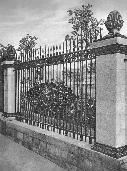 Ограда Арбатского сквера.