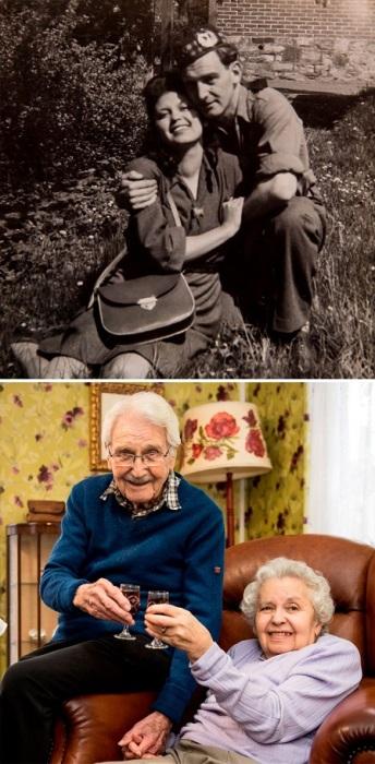 Шотландский солдат Джон Маккей и освобожденная им из нацистского лагеря еврейская девушка Эдит Штайнер прожили вместе более 70-ти лет.