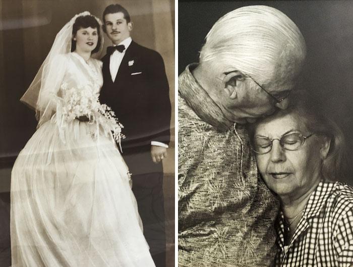 Эта пара скончалась, держась за руки, после 69 лет брака.