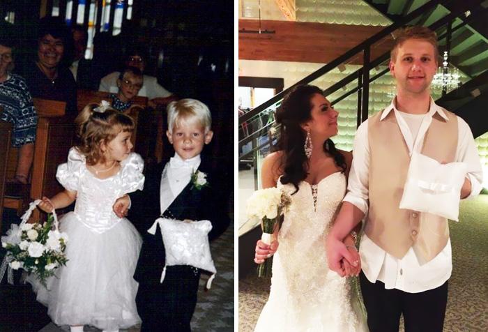 Детишки со свадьбы сочетались браком спустя 20 лет!