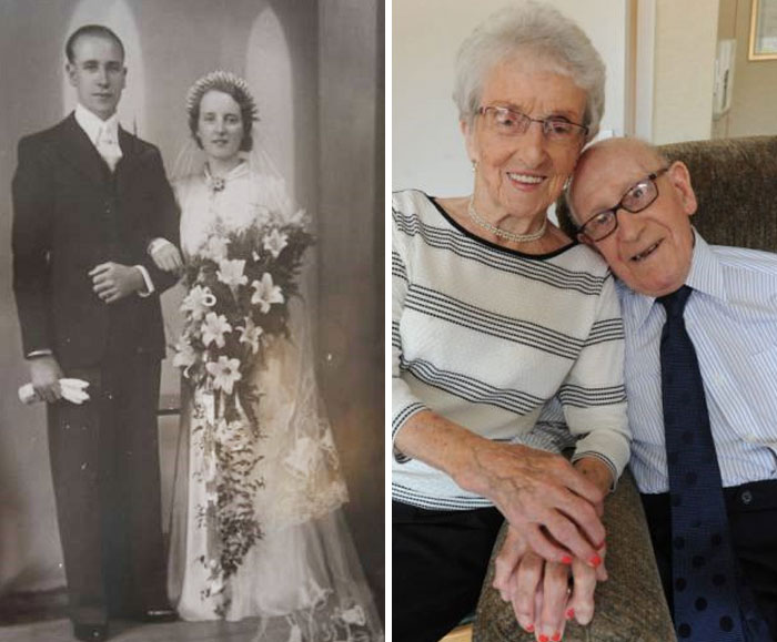 75 лет супружеской жизни, наполненной счастьем, тревогами и … любовью.