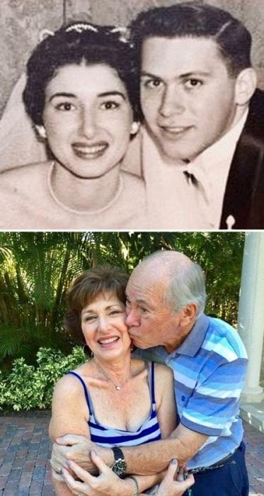 «Бабушка с дедушкой встретились в 1952 году, а в июне 2018 года они отпразднуют 60-ю годовщину свадьбы».