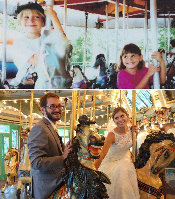 «Один из моих лучших друзей женился на девушке своей мечты, которую встретил в трехлетнем возрасте».