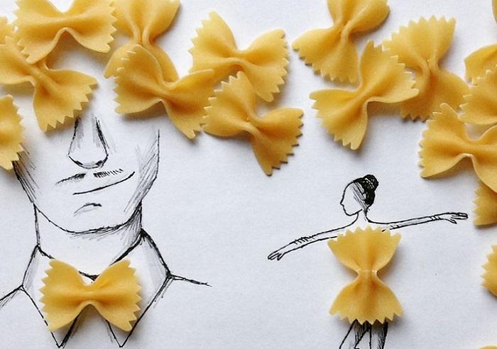 «Pasta creations» - «макаронные этюды».