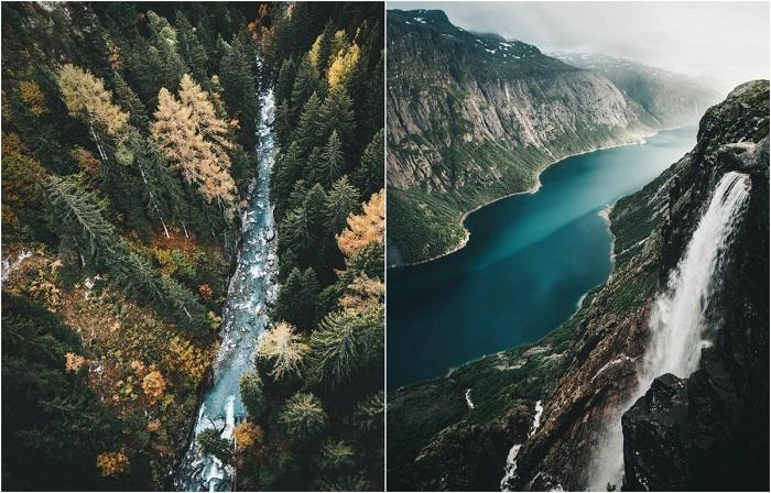 Величественные и завораживающие горные пейзажи.