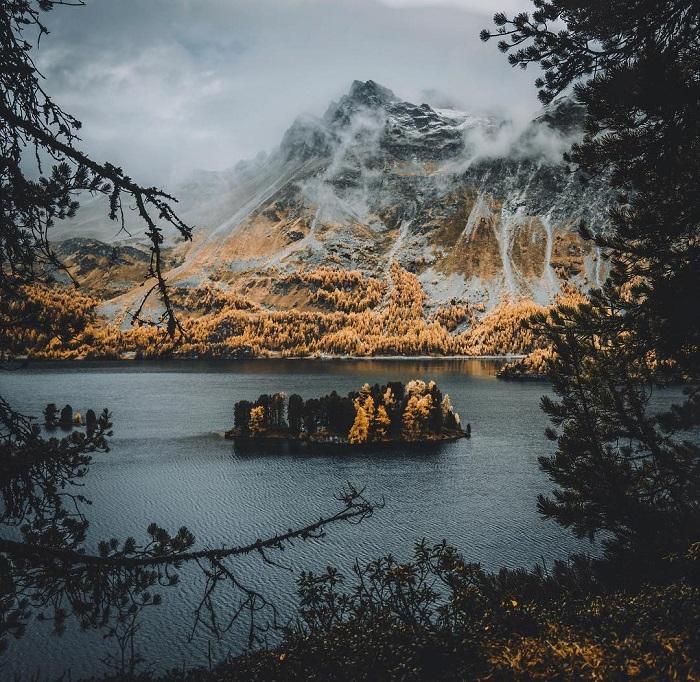 Место съемок: Изола, кантон Граубюнден (Швейцария).