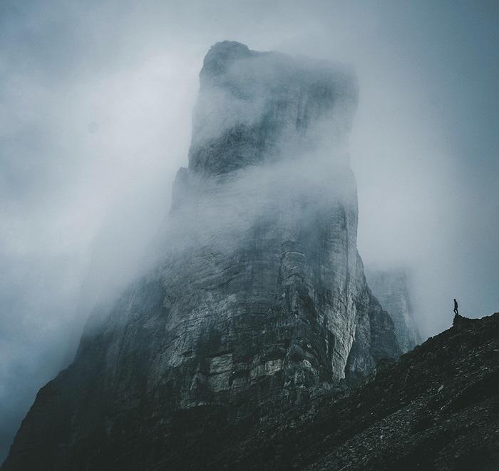 Место съемок: горный массив Тре-Чиме-ди-Лаваредо (Италия).