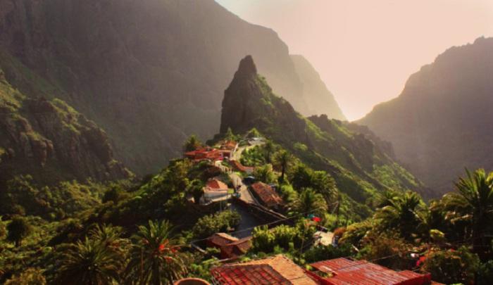 Маленькая горная деревушка, расположенная в Буэнависта дель Норте.