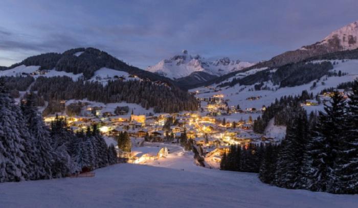 Небольшая деревня с населением около 1500 человек в австрийской земле Зальцбург.