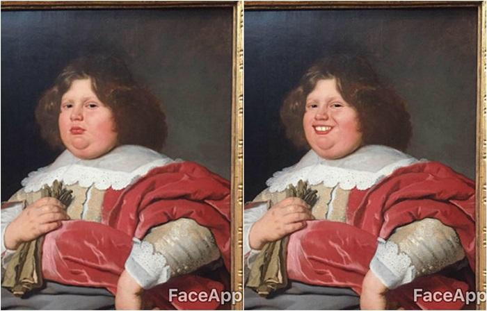 Предметы искусства до и после трансформации.
