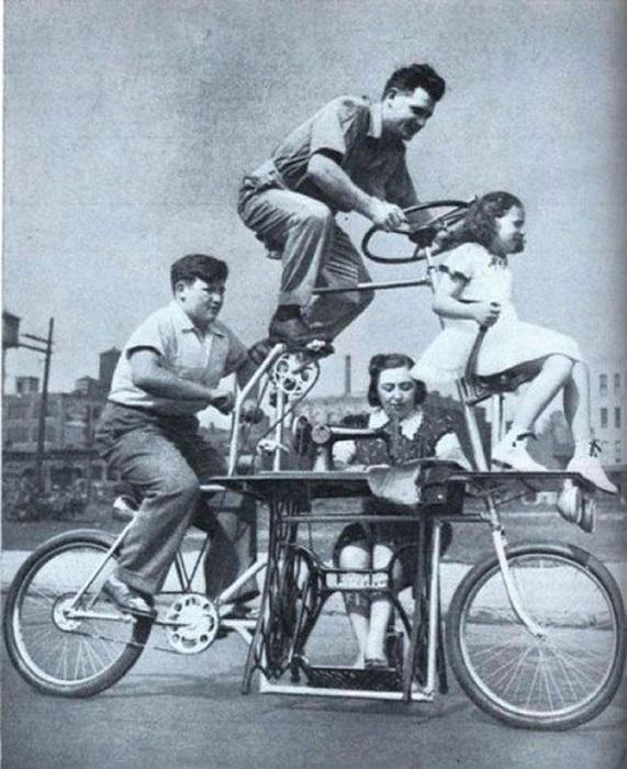 Необычное изобретение прошлого, (США, 1939 год).
