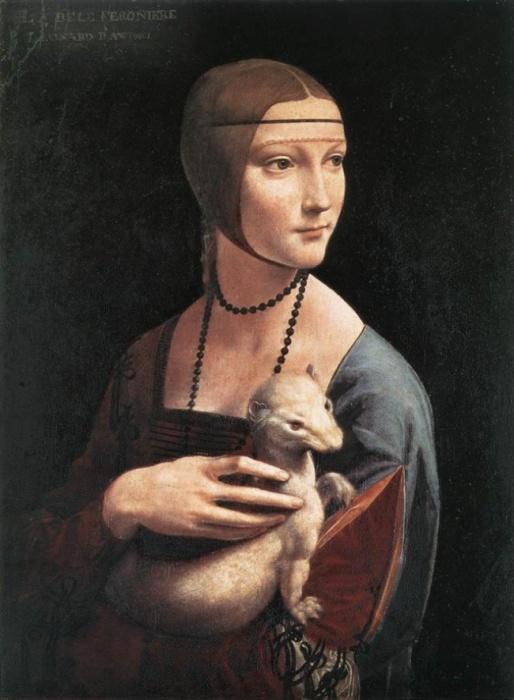 Девушка из благородной итальянской семьи, которая в возрасте 10 лет уже была помолвлена.