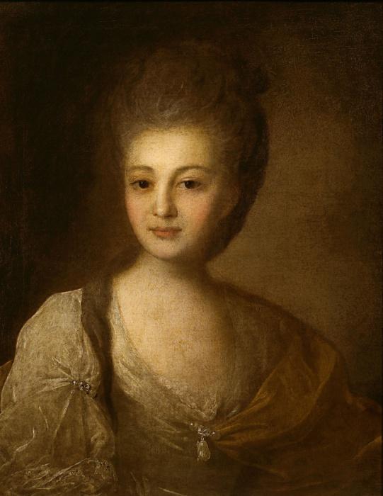 Портрет юной Александры.