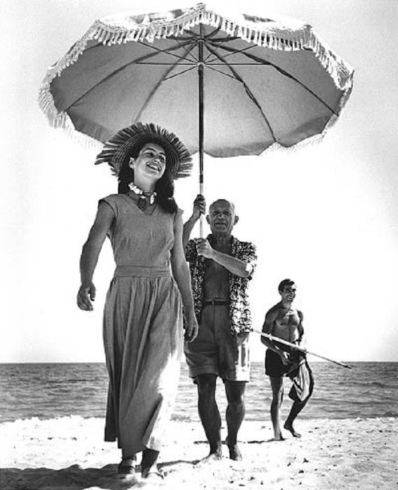 Отдых на лазурном берегу, 1948 год.