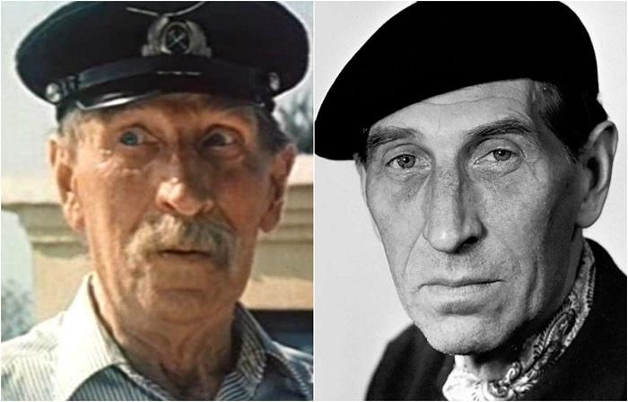 Комедийный актёр блестяще справился с ролью станционного смотрителя.