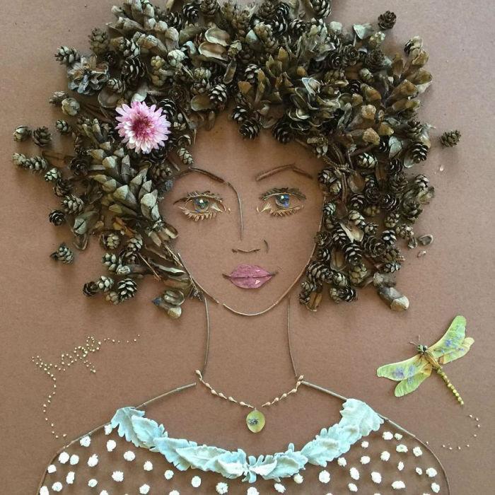 Роскошная африканочка.