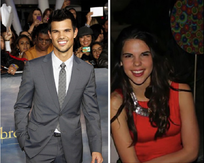 У Тейлора Лотнера, похоже, есть сестра-близнец.